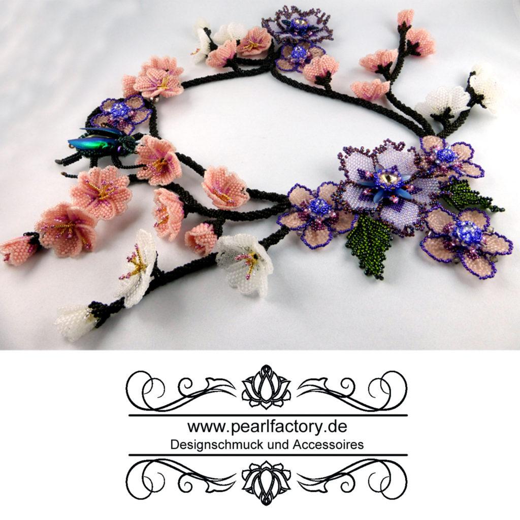 collier-halskette-kette-beadart-beadwork-pearlfactory-sakura-blossom-0