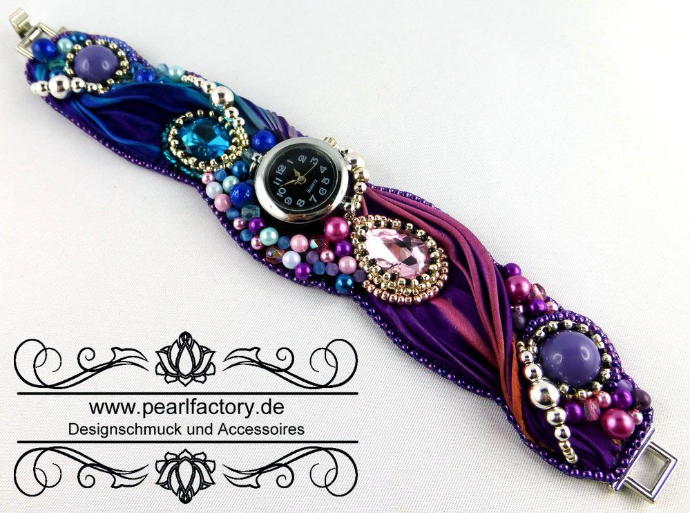happy-armbanduhr-uhr-armband-shibori-seide-beadembroidery-schmuck-pearlfactory-1