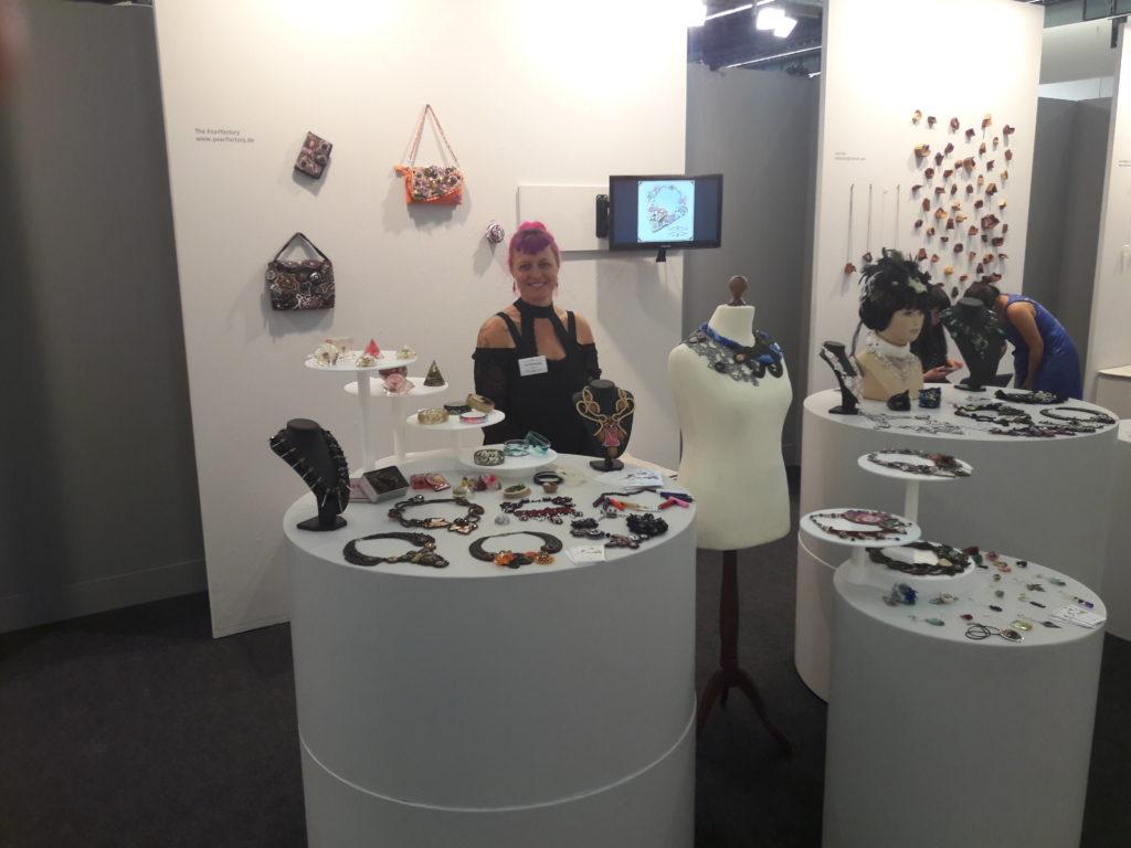 The Pearlfactory auf der tendence Messe Frankfurt 2017, als talents Künstler.