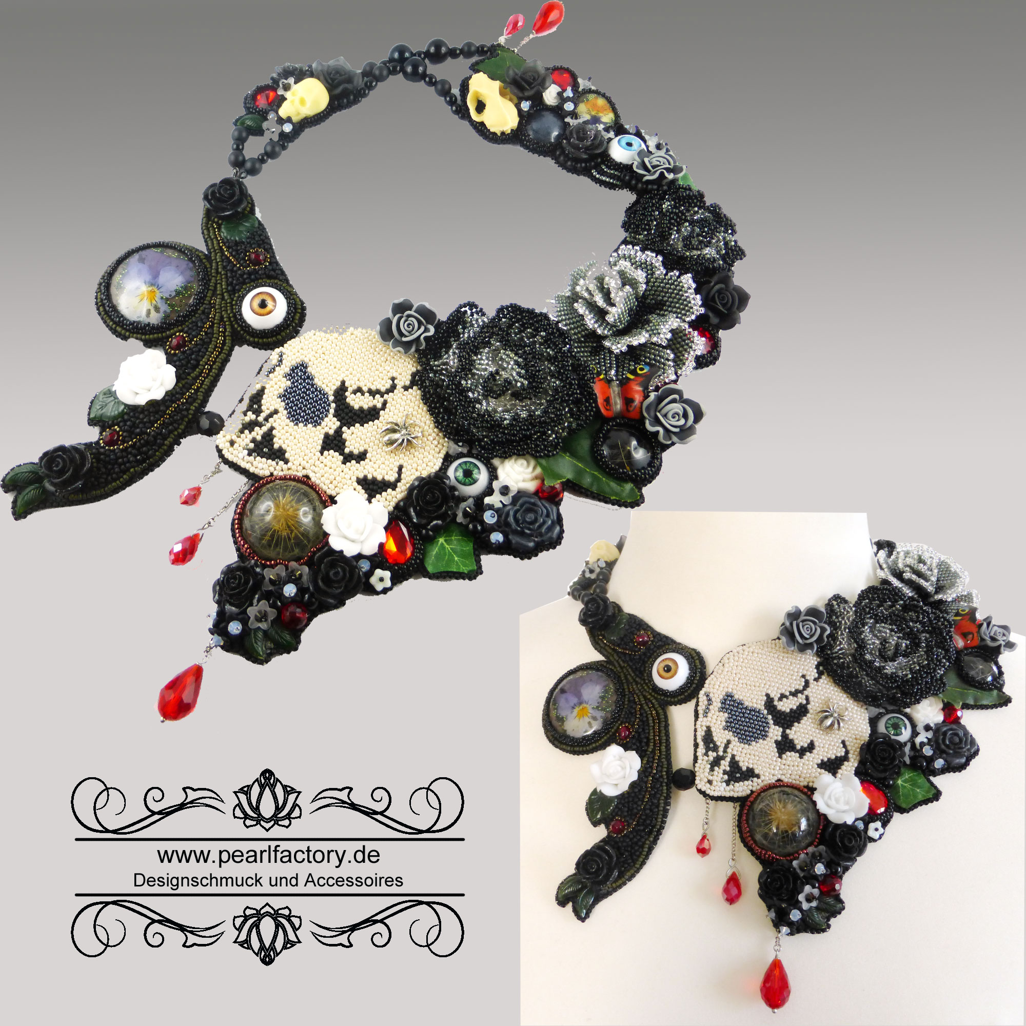 collier-halskette-gothic-goth-bead-embroidery-memento-mori-1