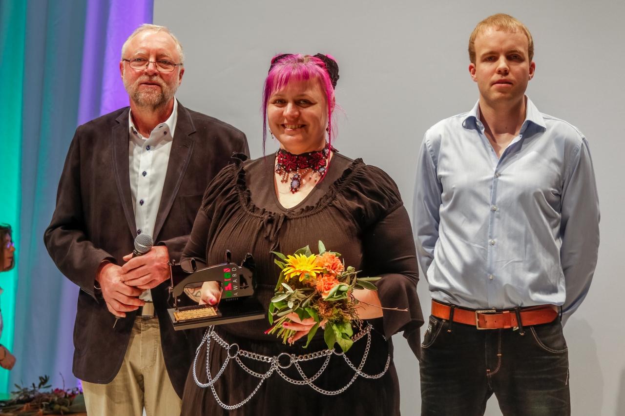 Siegerehrung 18.03.2015 Dortmund City - Dortex Design Award 2015 Creativa Dortmund Westfalenhallen - Copyright Stephan Schuetze honorarfrei fuer die Firma Dortex -