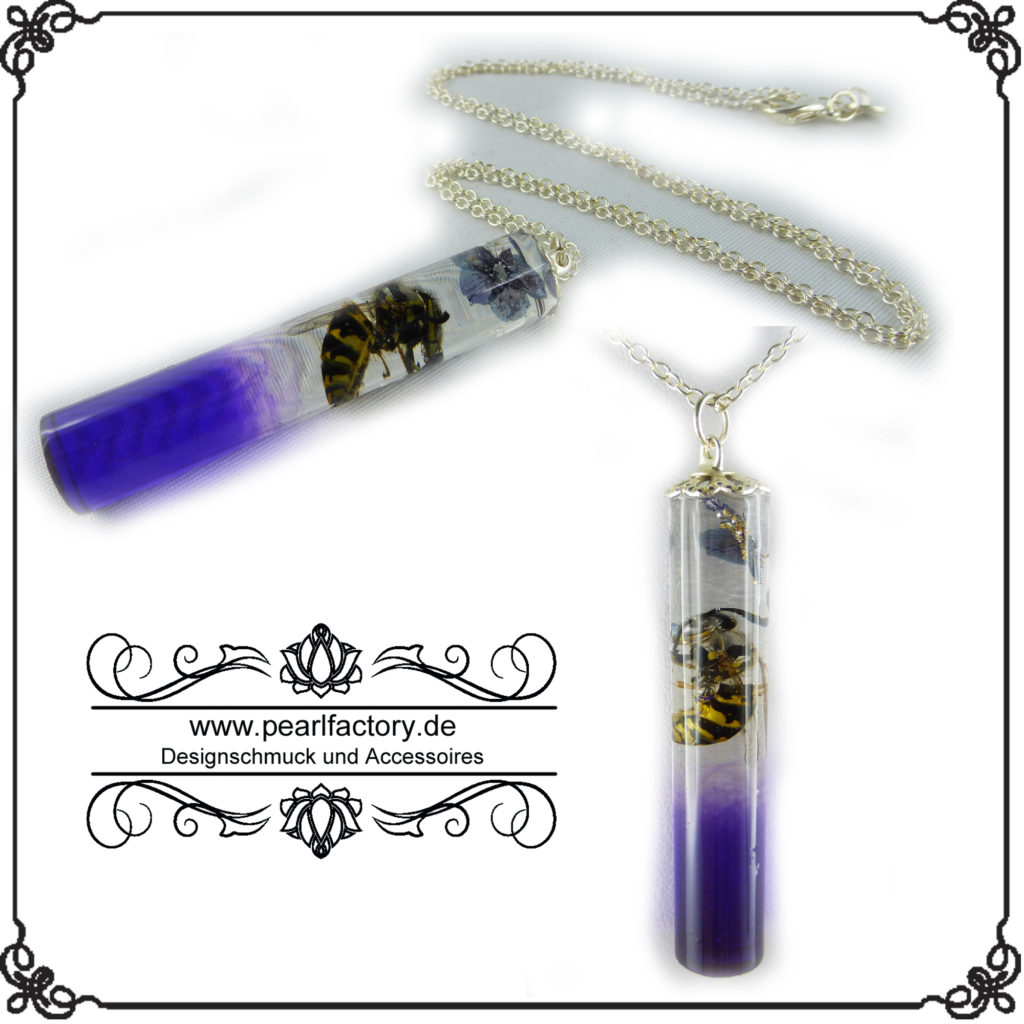 halskette-kette-925-silber-resin-wespe-x-1